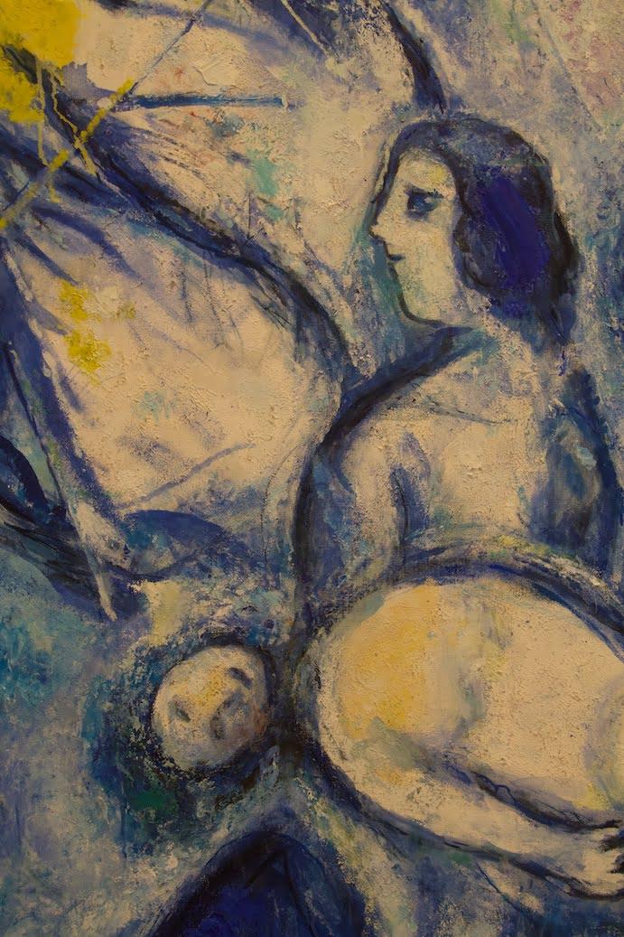 Marc Chagall - La création de l'homme