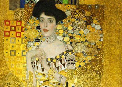 Klimt, Adele Bloch Bauer. Particolare