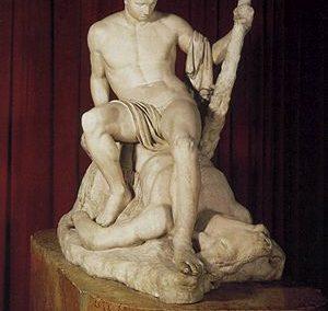 Canova Teseo e Minotauro