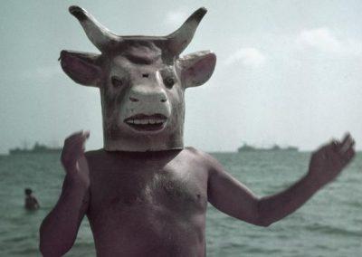 Picasso con maschera da minotauro