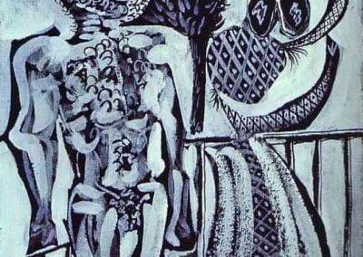 Picasso minotauro e moglie